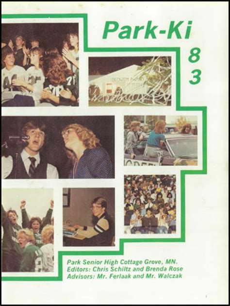 Park High School In Cottage Grove Mn by Explore 1983 Park High School Yearbook Cottage Grove Mn