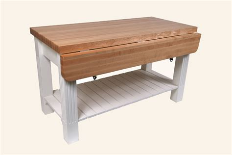 john boos grazzi kitchen island table w maple top 8