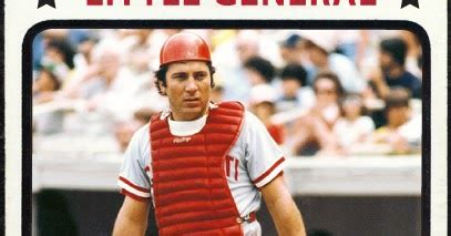 johnny bench nickname when topps had base balls nicknames of the 1970 s quot the
