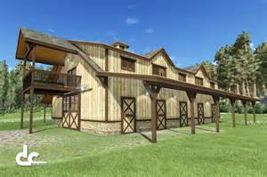 Barn Plans With Living Space by Outdoor Alluring Pole Barn With Living Quarters For Your