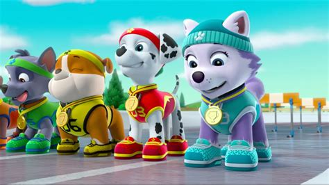 Kid Rompi Kmj Navi animation pups save goats being silly paw patrol