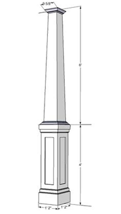 Interior Column Wrap Kits by Details Of A Porch Column With Facade Future