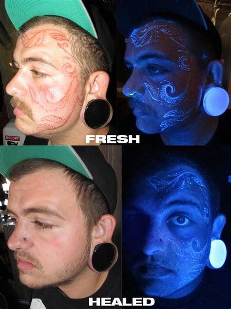 invisible ink tattoo uv ink blacklight designs are uv tattoos really
