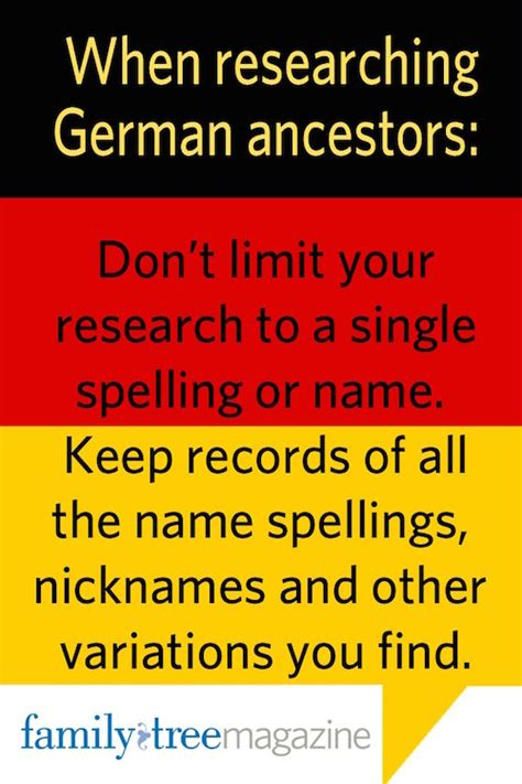 7 Tips On Tracing Your Family Tree by Tips For Tracing German Ancestors Family Tree