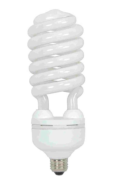Led Cfl Light Bulbs Satco S7339 Daylight 5000k 55 Watt 120 Volt E26 Medium Base Compact Fluorescent Light