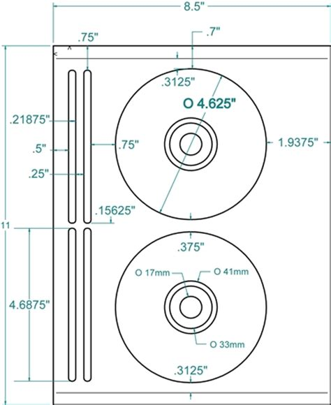 avery cd jewel case template