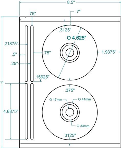 Compulabel 312660 4 625 Quot Cd Dvd Labels 5931 100 White