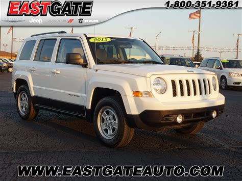 Used Jeeps Indianapolis New And Used Jeep Patriot For Sale In Indianapolis In