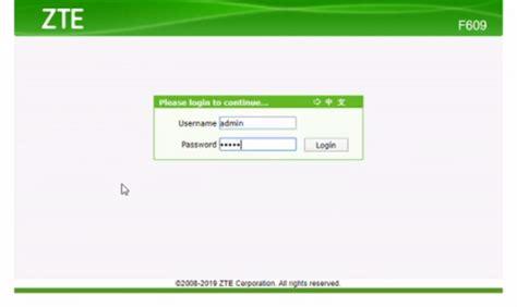 seting zte   koneksi internet  modem gsm paket