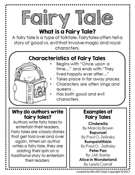 genre mini anchor charts genre anchor charts anchor 161 best images about theme ideas fairy tales on
