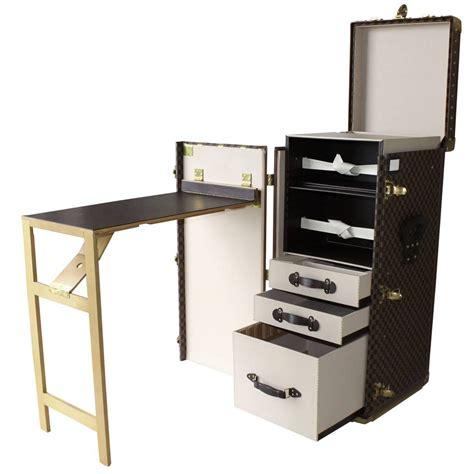 Trunk Desk louis vuitton writing desk trunk at 1stdibs
