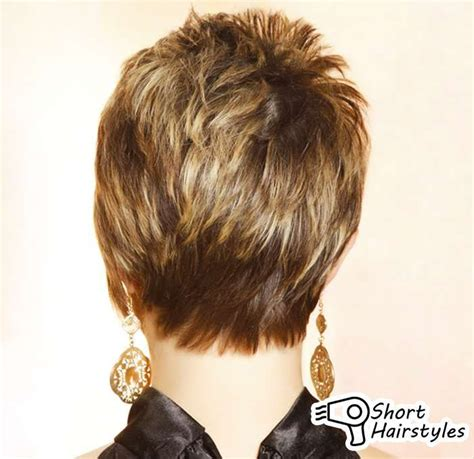 short hair rear view image pix for gt short haircuts for women front and back view