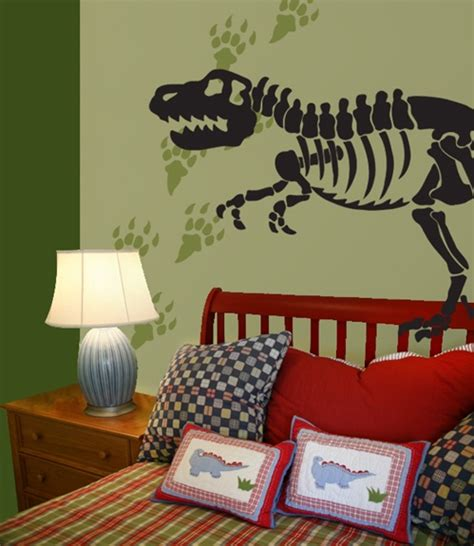 dinosaur bones amp tracks wall decals stickers
