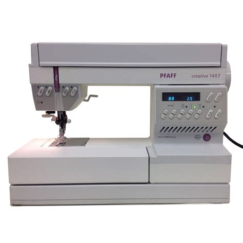 Pfaff Quilting Machines by Pfaff 1467 Pre Owned Sewing Machine Mint Condition