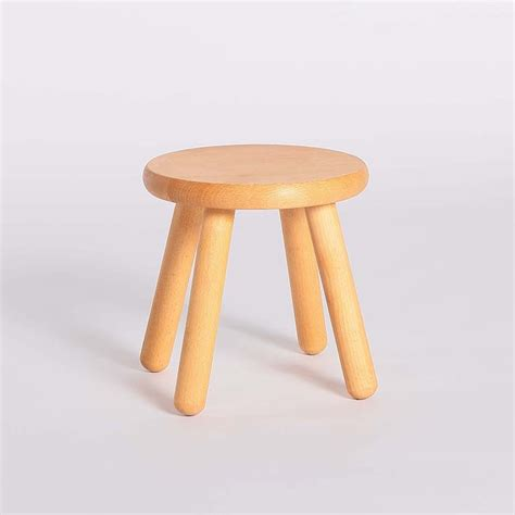 Childrens Stool by Simple Creative Solid Wooden Stool Low Chair Children S