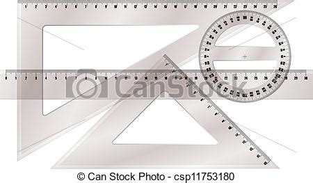 printable scalable protractor vector of ruler and protractor csp11753180 search clip