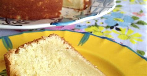 Marguerite Cheese Pound Cake s sour almond pound cake from contented