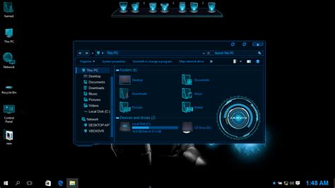 pc themes full version free download jarvis skinpack for win10 released skinpack customize