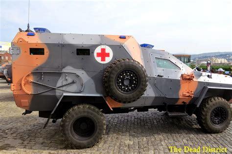 modern army vehicles georgia presented new armored medical vehicle on base