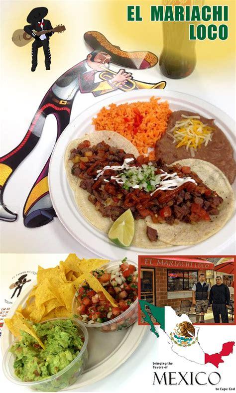 mexican restaurants cape cod el mariachi loco mexican restaurant on st hyannis