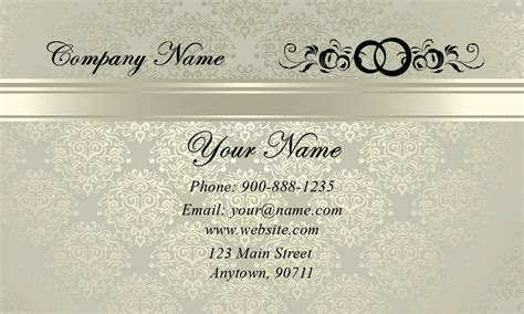 event coordinator business card templates vintage pattern event planner business card design 701141