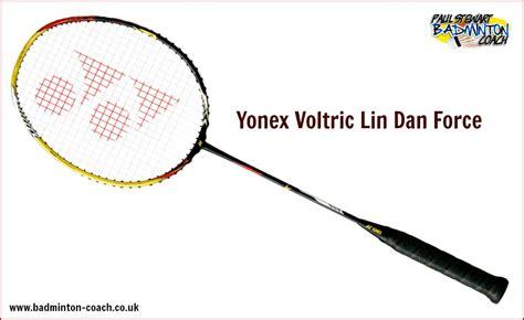 Raket Yonex Voltric 8 Ld yonex voltric dan badminton racket review paul