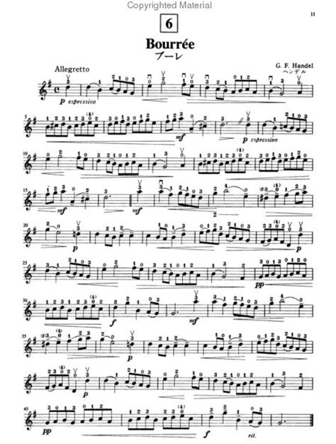 Suzuki Book 4 Violin Sheet Suzuki Violin School Violin Part And Cd