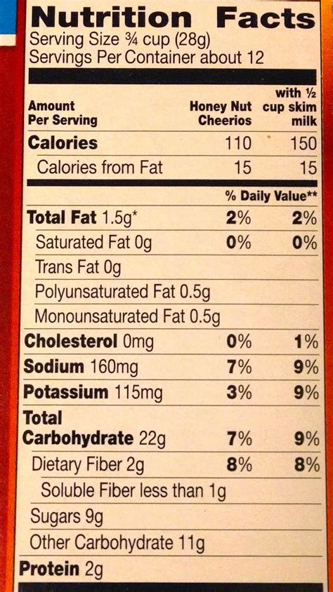 captain crunch nutrition facts label image mag