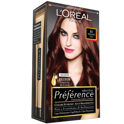 test colore capelli l oreal tinta per capelli colore permanente recital