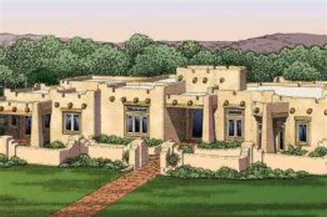 adobe style house plans adobe southwestern style house plan 3 beds 3 50 baths