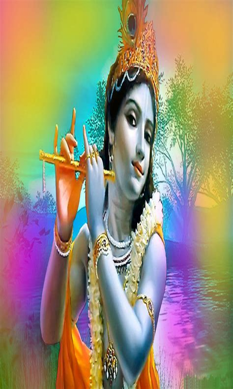 hd wallpapers for android krishna lord krishna with colorful background iphone hd wallpapers