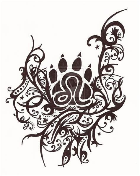 tribal tattoo leo 58 tribal zodiac sign tattoos designs