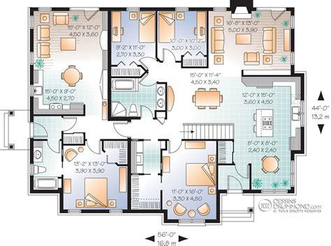 House Plan For Narrow Lot Classique Jumel 233 S Amp Bi G 233 N 233 Ration Champ 234 Tre Manoirs