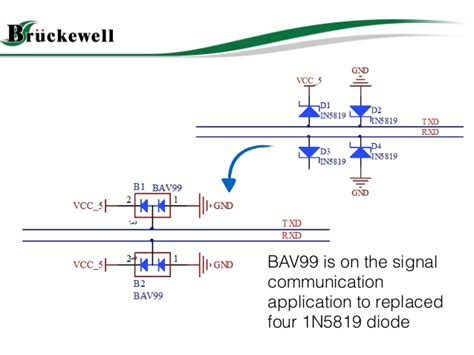 what is decoupling diode bav99 switching diode applciation