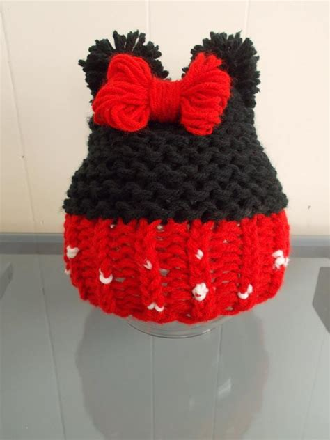 loom knit minnie mouse hat minnie mouse hat by sherman loomahat