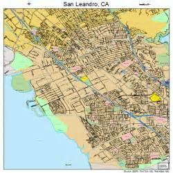 san leandro california map 0668084