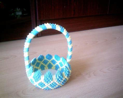 3d Origami Basket Tutorial - basket jpg album awdrjus 3d origami