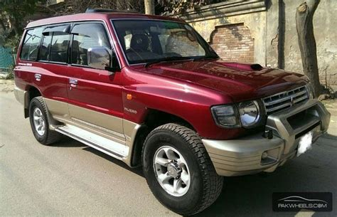 mitsubishi pakistan mitsubishi pajero exceed 2 8d 1997 for sale in lahore