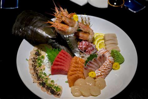 sashimi and sushi buffet at hokkaido sushi m hotel
