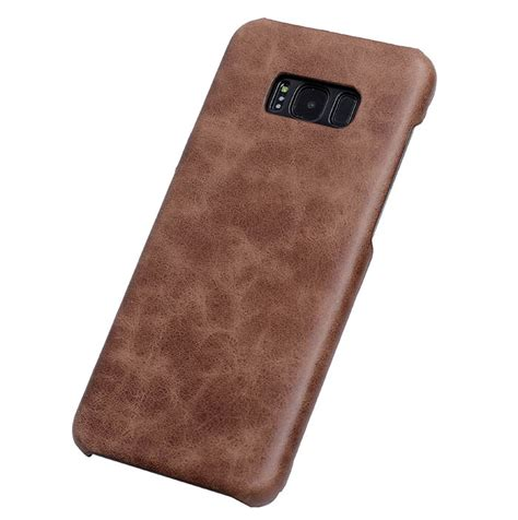 Leather Auto Focus Original Samsung Galaxy Note 8 Softcase Back genuine leather matte samsung galaxy s8 plus back cover