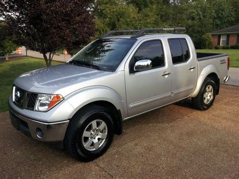 sell used 2006 nissan frontier nismo in memphis buy used 2006 nissan frontier nismo off road crew cab pickup 4 door 4 0l in franklin tennessee