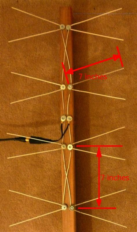 i made a uhf antenna for digital tv reception scary reasoner