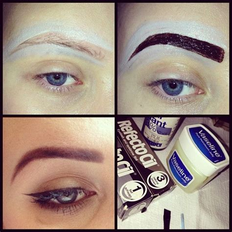 how to my at home how to dye your eyebrows at home zone