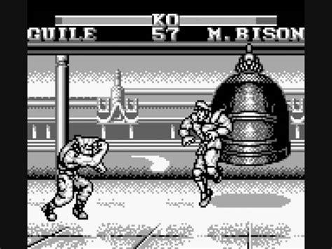 St Whitesu Gb ゲームボーイ版 どれだけあるの ストリートファイター2の移植作品 naver まとめ