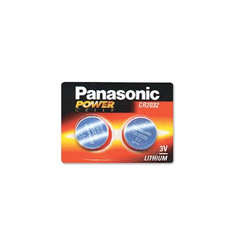 Baterai Cr2032 3v cr2032 battery 2 pack panasonic lithium coin cell 3v