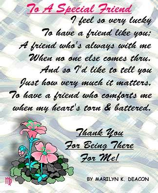 thank you letter to special friend for a special friend quotes image quotes at relatably