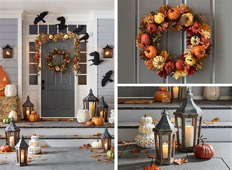 pottery barn inspired fall front porch fall decorating ideas for your front porch pottery barn