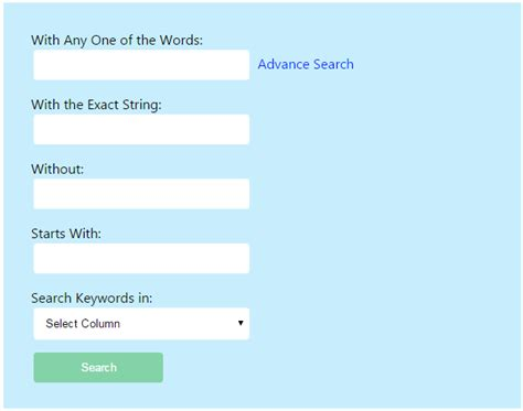 tutorial php advanced advanced search using php