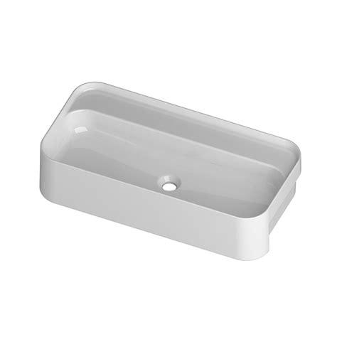lavabo bagno semincasso lavabo semincasso 80x40 cm slim