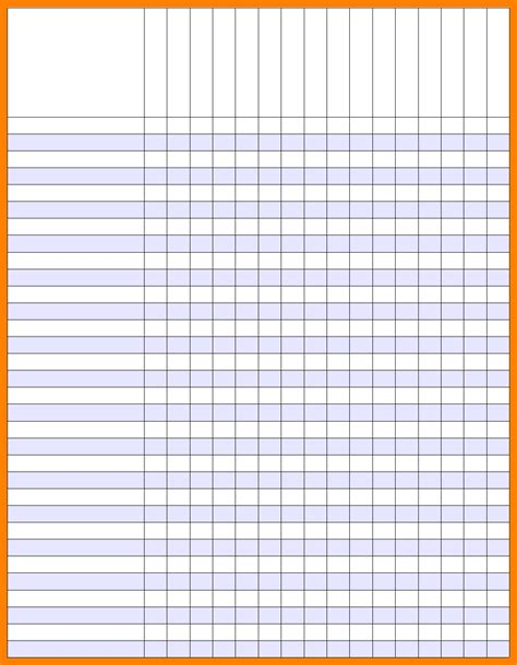 printable gradebook template printable template 2017